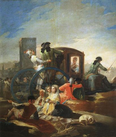 Продавец посуды (1778 - 1779) - Франсиско Гойя