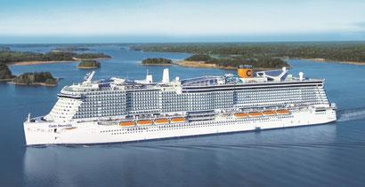 Costa Cruceros возвращается в Барселону в начале июля.