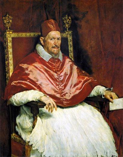 Портрет папы Иннокентия X - Диего Веласкес