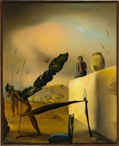 Призрак Вермера Делфтского  - Сальвадор Дали (1935)