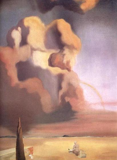 Призрак и фантом - Сальвадор Дали (1934)