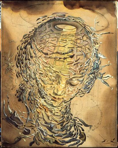 Raphaelesque Head Exploding - Salvador Dali