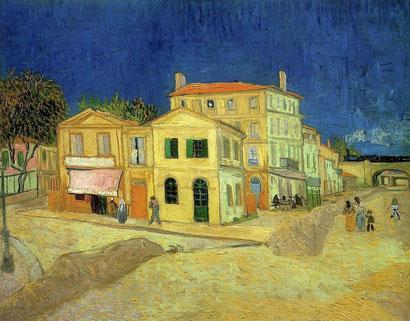 Желтый дом - Винсент Ван Гог