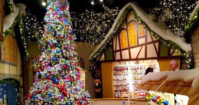 Käthe Wohlfahrt - лучший магазин рождественск и новогодних украшений в Испании