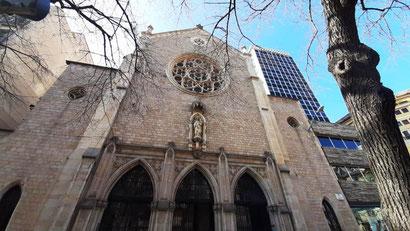 Барселонская церковь-путешественница