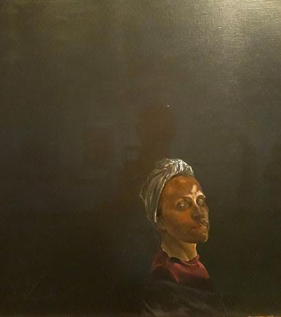 Портрет Галы в тюрбане