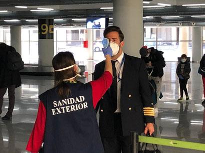 Как будут встречать туристов аэропорты Испании