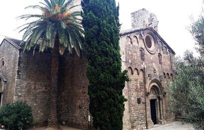 Монастырь Сант Пау дель Камп - Барселона