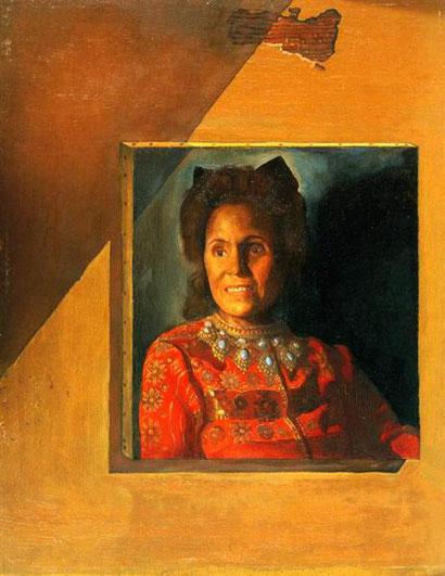 Портрет Галы (1976) - Сальвадор Дали