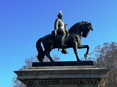 Памятник генералу Приму в Барселоне