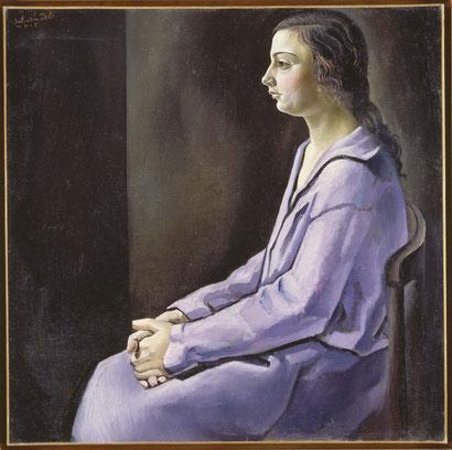 Сальвадор Дали - Портрет моей сестры (1925) - barcelona-excursii