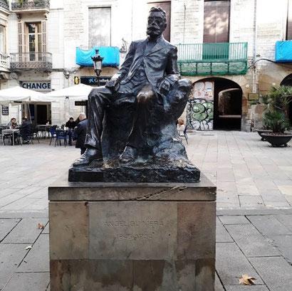 Анжель Гимера - памятники Барселоны
