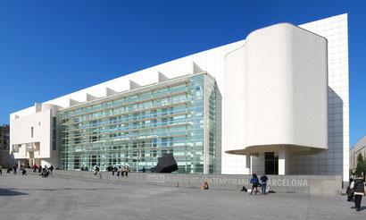 MACBA - музей совремеенного искусства Барселоны