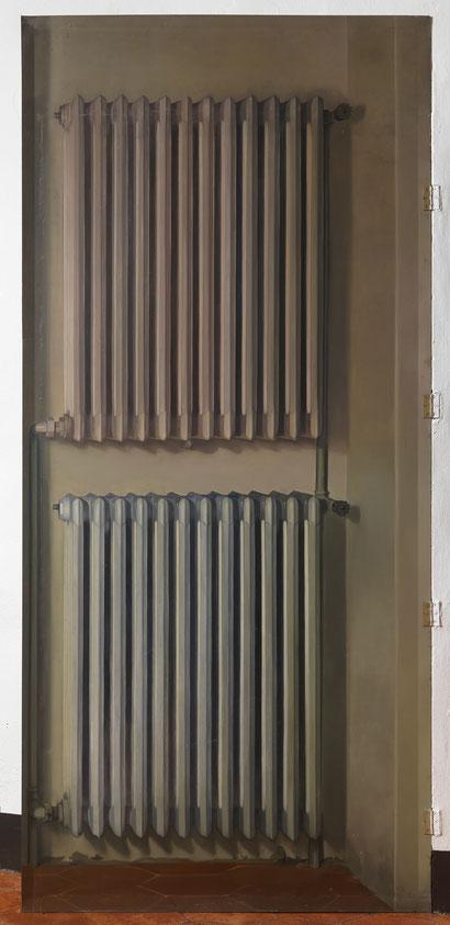 Без названия. Радиаторная Батарея - картина Сальвадора Дали