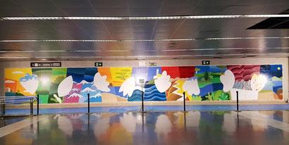 Мураль Филиппа Стентона в Барселоне