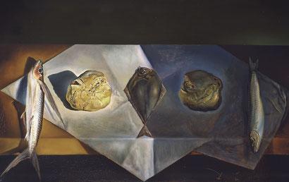Евхаристический натюрморт - Сальвадор Дали (1952)