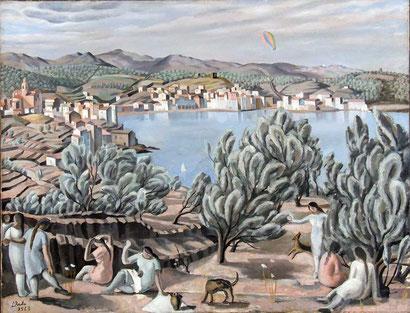 Кадакес - Сальвадор Дали (1923)