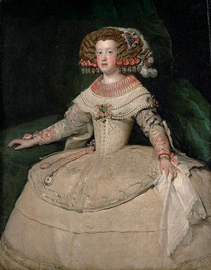 Портрет инфанты Марии Терезии с часами
