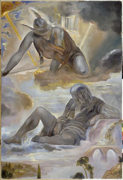 Меркурий и Аргус - Сальвадор Дали