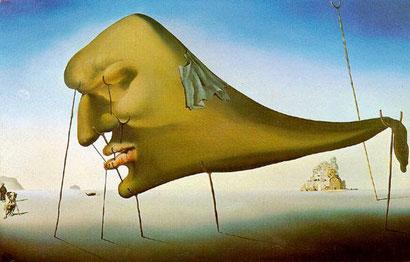 Le Sommeil (Sleep) - Salvador Dali