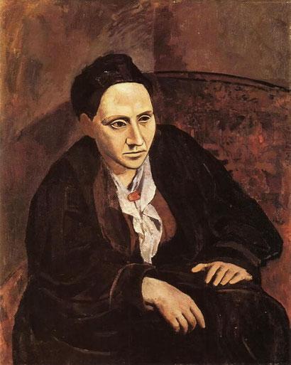 Портрет Гертруды Стайн - Пабло Пикассо