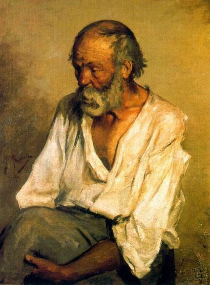 Старый рыбак - Пабло Пикассо