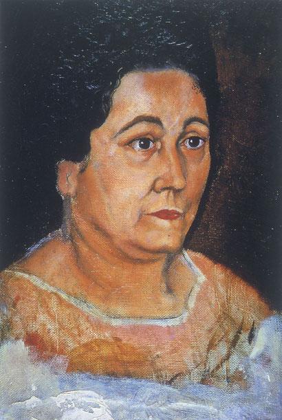 Портрет матери художника - Сальвадор Дали (1918)