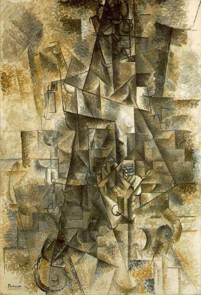 Аккордеонист - Пабло Пикассо
