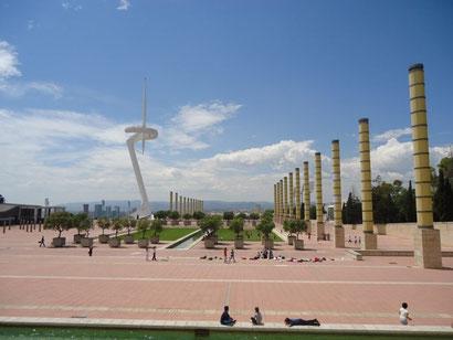 Достопримечательности горы Монужик в Барселоне