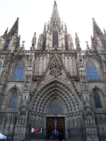 Собр Святого Креста и Святой Евлалии в Барселоне