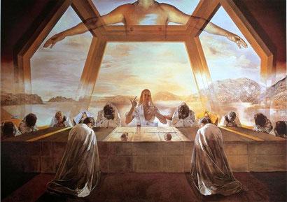 The Sacrament of the Last Supper Salvador Dali