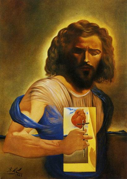 Священное сердце Иисуса - Сальвадор Дали (1962)