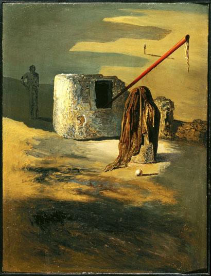 Живопись (Тревога) - картина Сальвадора Дали (1936)
