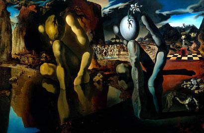 Metamorphosis of Narcissus - Salvador Dali