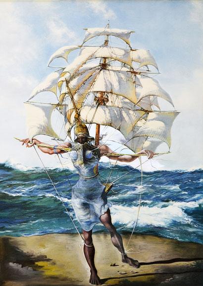 Корабль  - Сальвадор Дали (1942)