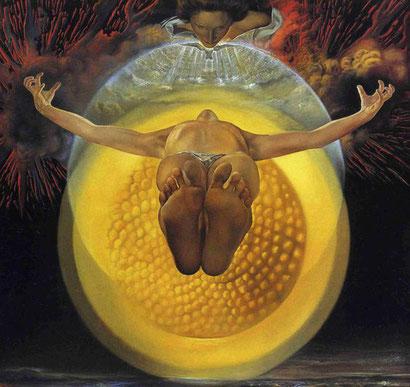 Вознесение Христа - Сальвадор Дали (1958)