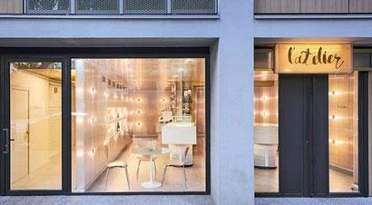 L'Atelier - самая инновационная кондитерская в Барселоне.