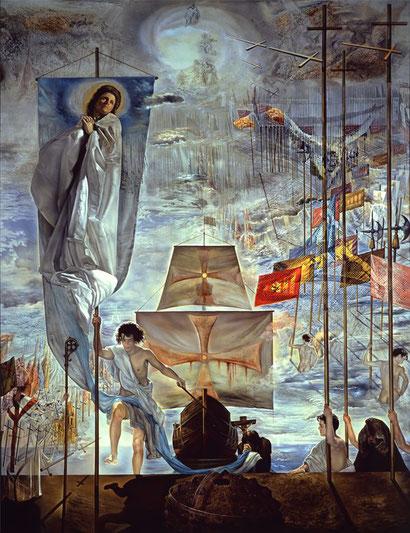 Открытие Америки Христофором Колумбом - Сальвадор Дали