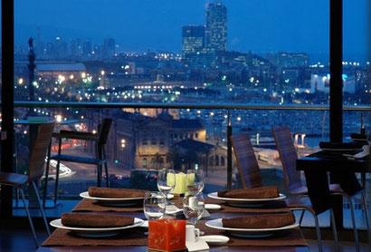 Рестораны Барселоны с лучшими видами