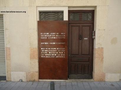 Дом, где родился Антонио Гауди