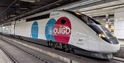 Французские поезда лоу кост связали Барселону с Мадридом
