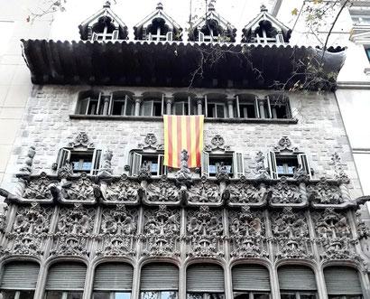 Дворец Баро-де-Куадрас в Барселоне