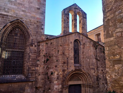 Храмы Барселоны - часовня Святой Люсии