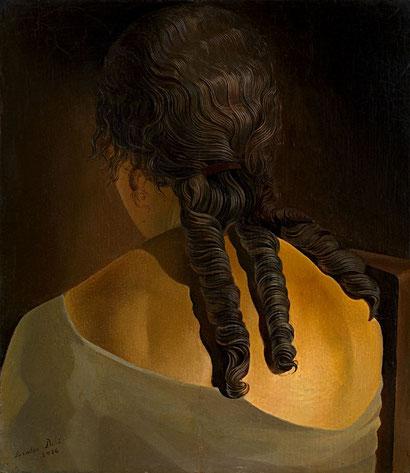 Спина девушки - Сальвадор Дали (1926)