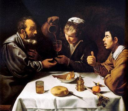 Завтрак - картина Диеего Веласкеса
