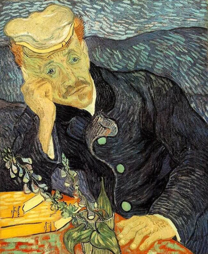 Портрет доктора Гаше - Винсент Ван Гог