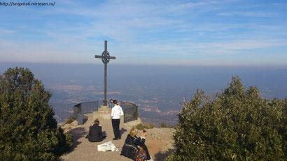 Крест Святого Михаила на горе Монсеррат