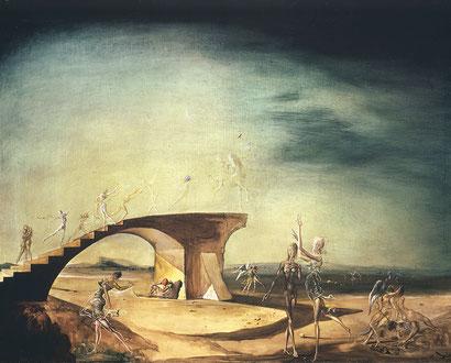 Разрушенный мост мечты - Сальвадор Дали