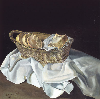 Корзинка с хлебом (1926) - Сальвадор Дали