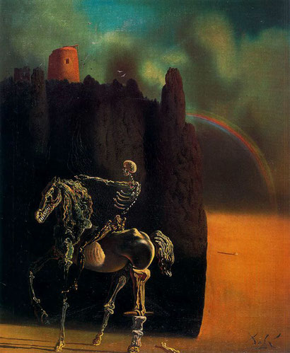 Рыцарь смерти - Сальвадор Дали